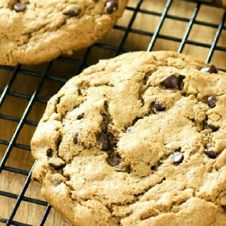 Almond Butter Chocolate Chip Cookies Recipe Video.