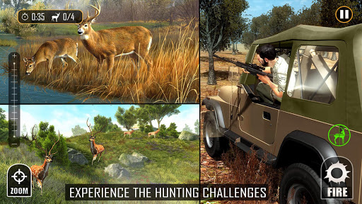 Deer Hunting - Sniper Shooting Games screenshots 4