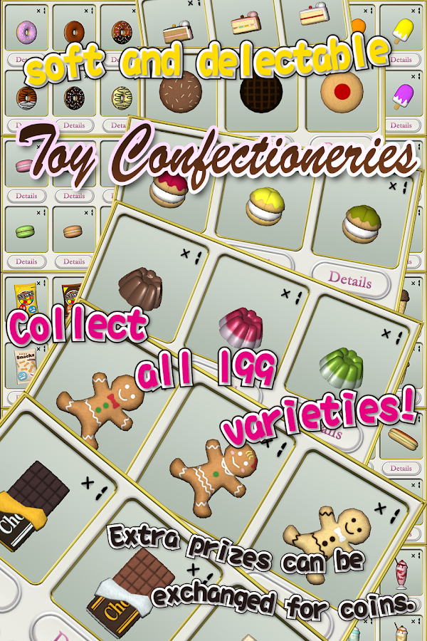 Claw Crane Confectionery- screenshot