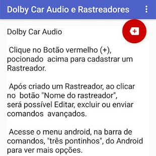 Dolby Car Audio e Rastreadores - náhled