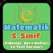 5. Sınıf Matematik Konu Anlatımı ve Test Soruları