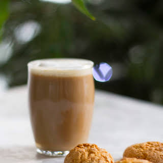 A Coffee and Baileys Cocktail.