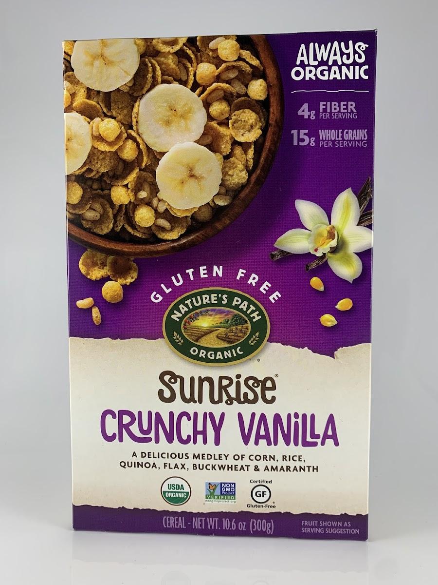 Sunrise Crunchy Vanilla Cereal