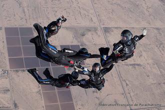 Photo: Sortie d'avion du VR4 Feminin, Eloy 2014