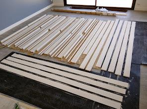 Photo: houtwerk in de grondverf