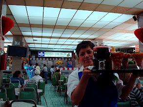 Photo: My friend Bertha bringing it at Boca del Rio