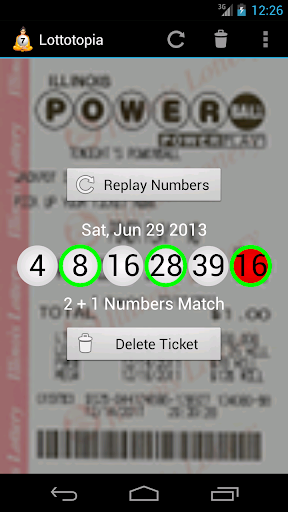 Lottery Results Ticket Checker by AppAde (Google Play, Japan