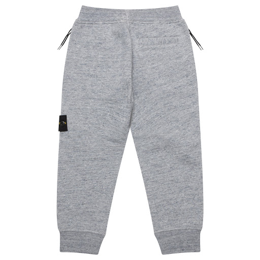 Thumbnail images of Stone Island Junior Grey Cotton Joggers