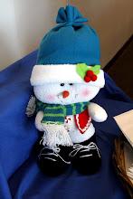 Photo: cute snowman