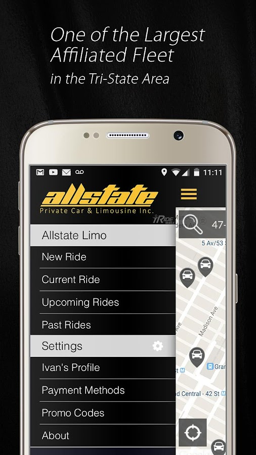 Allstate Limo- screenshot