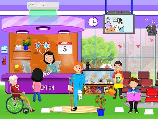 Pretend Town Hospital: City Doctor Life Game 1.0.6 screenshots 3