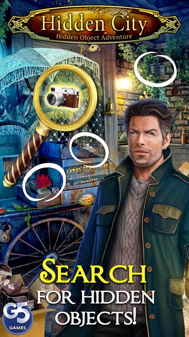Hidden City: Hidden Object Adventure Screenshot 0