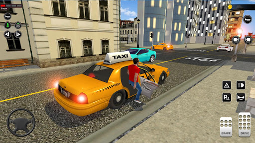 City Taxi Driving simulator: online Cab Games 2020 screenshots 2