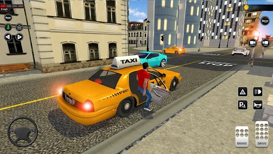 City Taxi Driving simulator: PVP Cab Games 2020 1.45 Android Mod APK 2