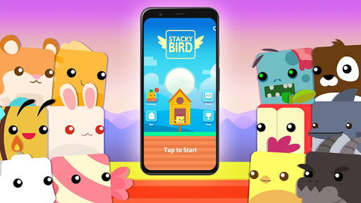 Stacky Bird: Hyper Casual Flying Birdie Game screenshots 6