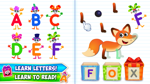 Baby ABC in box Kids alphabet games for toddlers androidiapk screenshots 1