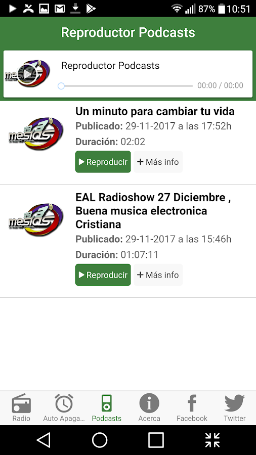 ​Mesías Radio- screenshot