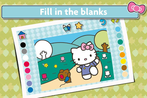 Hello Kitty Coloring Book - Cute Drawing Game for PC