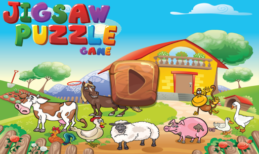 Animal Farm Puzzles for kids