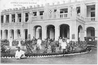Photo: Loyola college -1925 -The most renowned Catholic college in the city - Loyola College, is founded by a Jesuit priest - Rev. Fr Francis Bertram S. J.