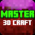 3D Master Mini Craft Crafting World icon