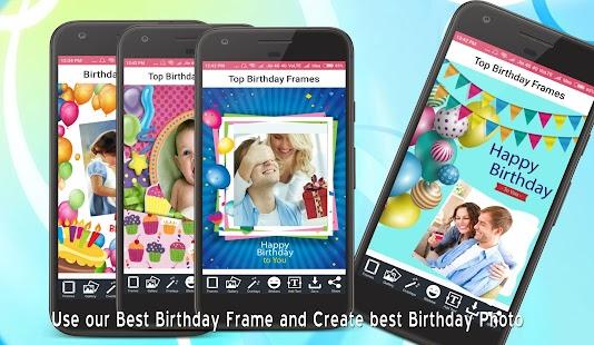 Happy Birthday Photo Frame / Birthday Photo Editor - náhled