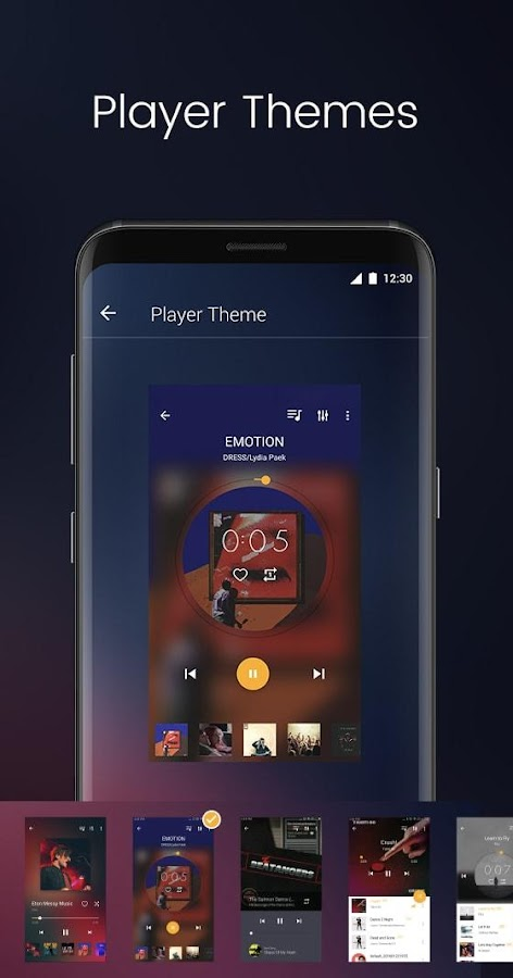 Music Player- screenshot