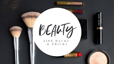 Beauty Life Hacks - YouTube Thumbnail Template