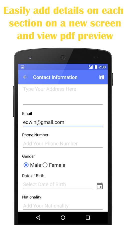 free resume builder offline free mobile website builder software quick resume builder android apps on google - Mobile Resume Builder