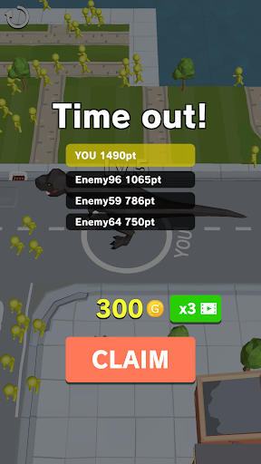 Dinosaur Rampage 4.1 screenshots 5