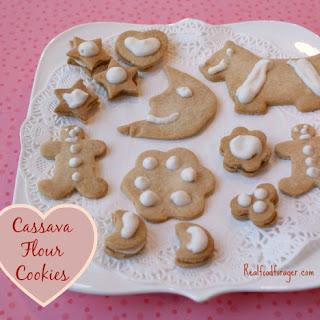 Cassava Flour Rollout Cookies