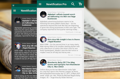Newtification News Screenshot