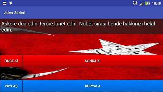 Asker Sözleri screenshot 4