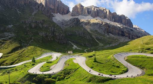 Dolomites avec France Moto Voyages