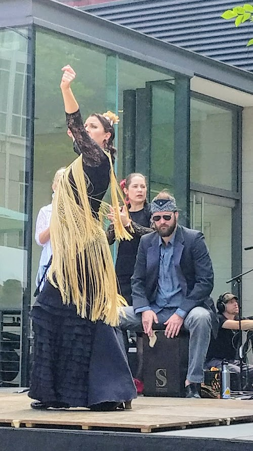 flamenco performances by Espacio Flamenco at Tastes of Spain, La Ruta PDX 2017