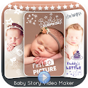 Baby Story Video Maker - Baby Photo Video Editor icon