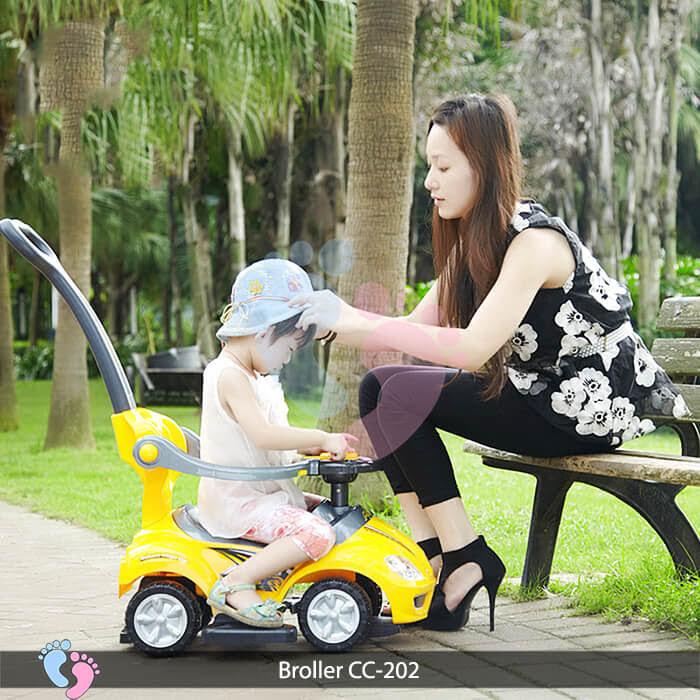 Xe chòi chân trẻ em Broller CC 202 4