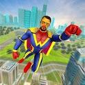 Flying Hero Crime City Theft icon