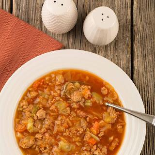 Pressure Cooker Cabbage Soup Recipe