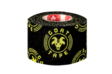 Goat Tape Scary Sticky - Black & Yellow