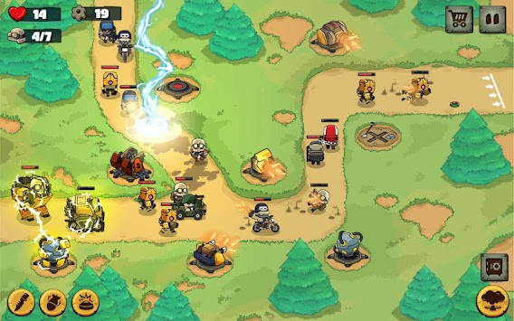 Metal Soldiers TD: Tower Defense apk screenshot