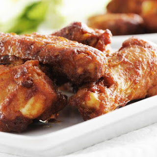 Authentic Buffalo Chicken Wings.
