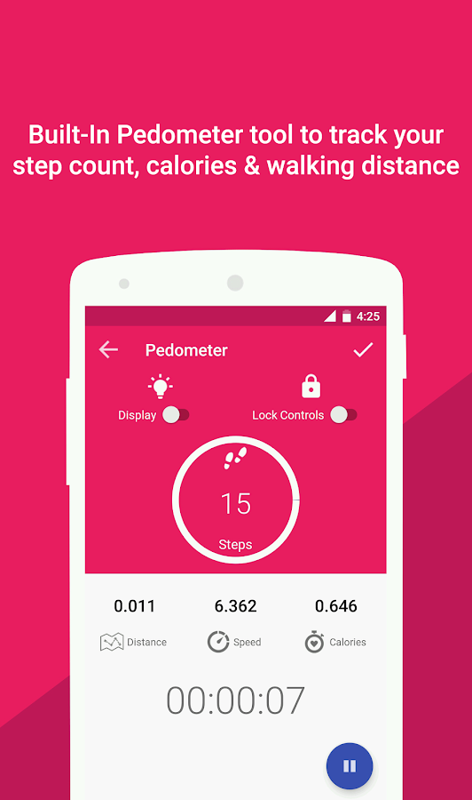 Health Pal Fitness & Pedometer- screenshot