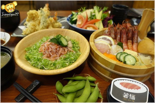 箸福。手作壽司丼飯-超鮮甜胭脂蝦讓丼飯超蝦趴
