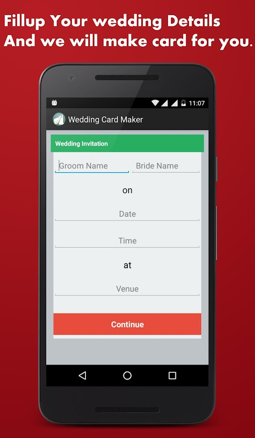 Wedding card maker android apps on google play wedding card maker screenshot stopboris Choice Image