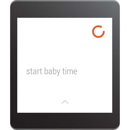 Baby Time: Android Wear Lock- screenshot