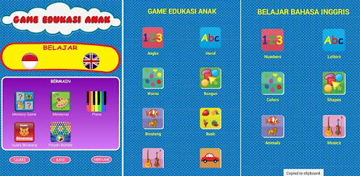 Game Edukasi Anak Lengkap Aplikasi Di Google Play