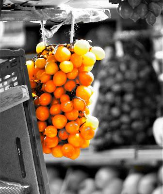 Orange splash di Alexphoto