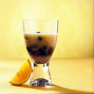 Heidelbeer-Melonen-Drink.