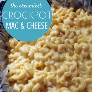 Easy Macaroni and Cheese Recipe in the Slow Cooker.